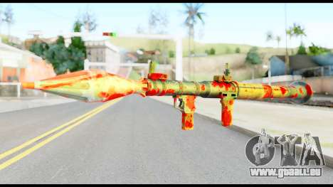 Rocket Launcher with Blood für GTA San Andreas