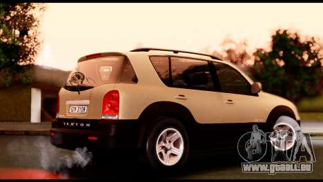 SsangYong Rexton 2005 für GTA San Andreas linke Ansicht