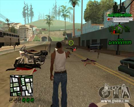 C-HUD for Groove für GTA San Andreas dritten Screenshot