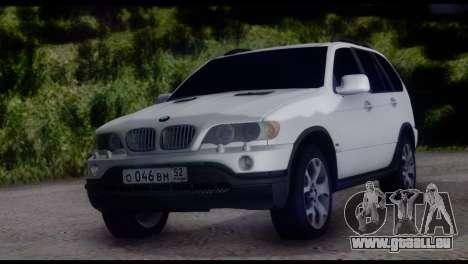 BMW X5 E53 für GTA San Andreas