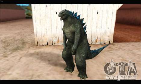 Babyzilla 2014 (Godzilla) pour GTA San Andreas deuxième écran
