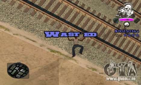 C-HUD Skillet pour GTA San Andreas cinquième écran