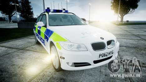 BMW 3 Series Touring E91 [ELS] pour GTA 4