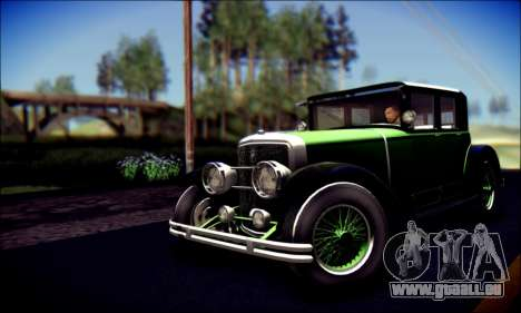 Albany Roosevelt (GTA V) pour GTA San Andreas sur la vue arrière gauche