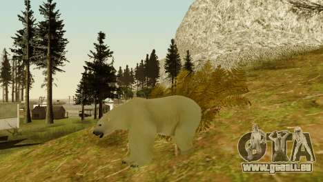 Die Möglichkeit von GTA V spielen für Tiere für GTA San Andreas achten Screenshot
