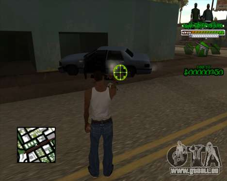 C-HUD for Groove für GTA San Andreas zweiten Screenshot