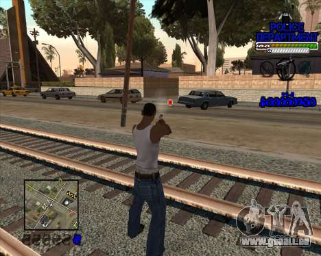 PD HUD für GTA San Andreas