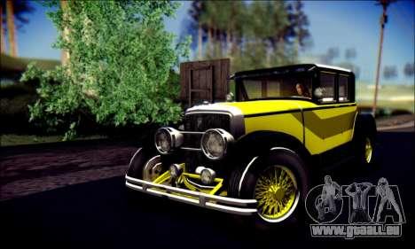Albany Roosevelt (GTA V) für GTA San Andreas Seitenansicht