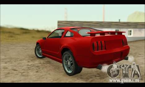 New Buffalo für GTA San Andreas zurück linke Ansicht