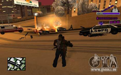 С-HUD Ghetto pour GTA San Andreas