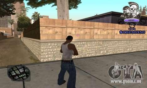 C-HUD Skillet pour GTA San Andreas