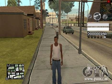 C-HUD Gray pour GTA San Andreas