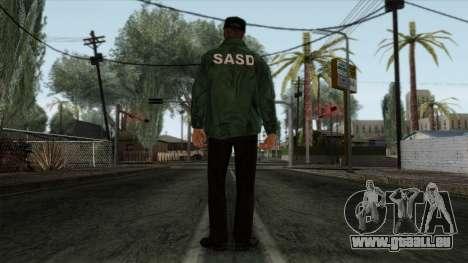 Police Skin 2 pour GTA San Andreas deuxième écran