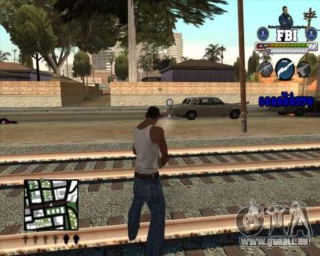C-HUD for FBI für GTA San Andreas