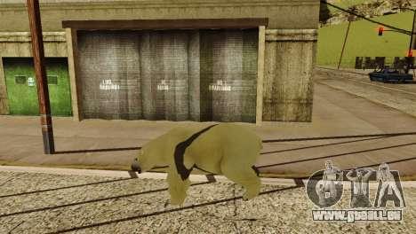 La possibilité de GTA V à jouer pour les animaux pour GTA San Andreas neuvième écran