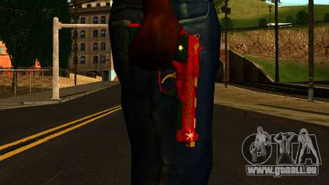 Noël Gun pour GTA San Andreas troisième écran