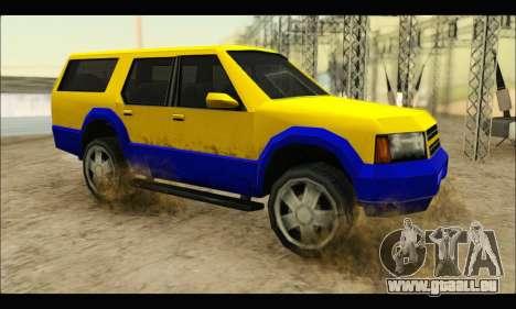 New Landstalker pour GTA San Andreas laissé vue