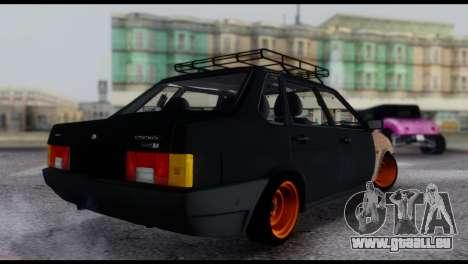 Lada 21099 Rat Look für GTA San Andreas linke Ansicht