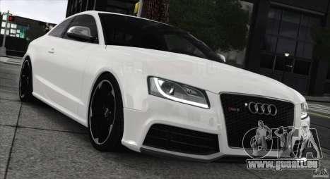 Audi RS5 2011 pour GTA 4 Vue arrière de la gauche