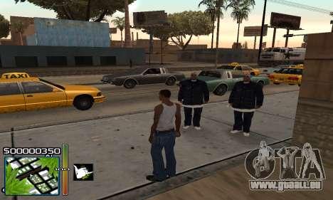 С-HUD RastaMan pour GTA San Andreas deuxième écran
