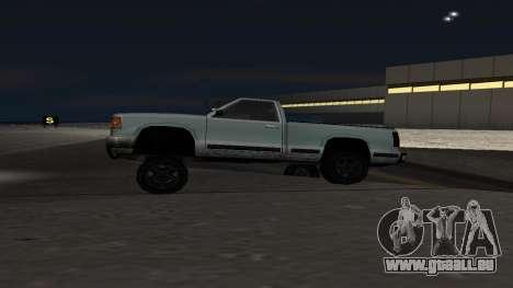 La nouvelle physique des machines pour GTA San Andreas deuxième écran