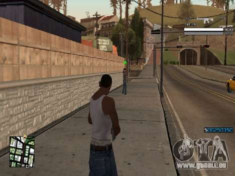 Simple C-HUD für GTA San Andreas