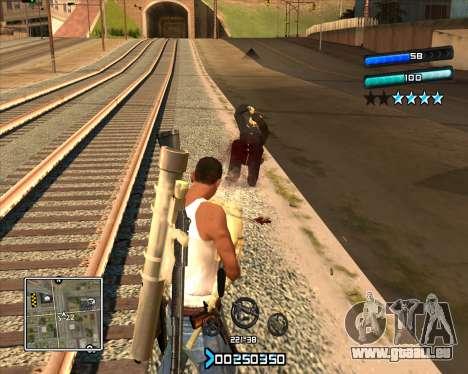 C-HUD Super Cull pour GTA San Andreas