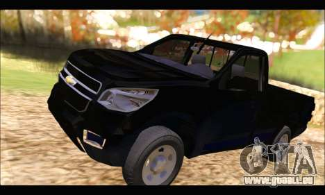 Chevrolet S10 Cabina Simple 2014 pour GTA San Andreas
