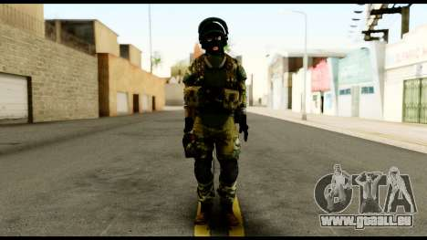 Support Troop from Battlefield 4 v3 für GTA San Andreas