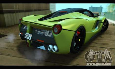 Ferrari LaFerrari 2014 für GTA San Andreas Innenansicht