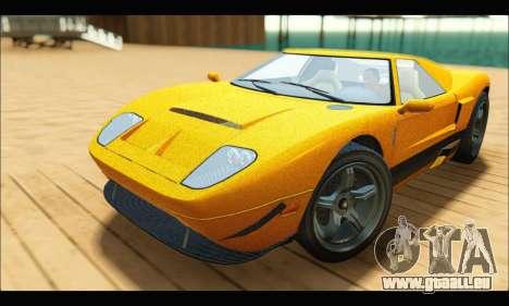 Vapid Bullet Gt (GTA V TBoGT) für GTA San Andreas