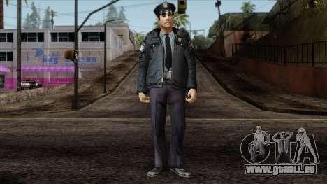 Police Skin 6 für GTA San Andreas