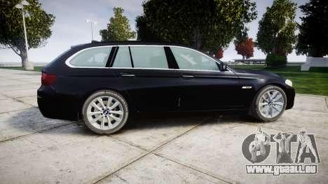BMW 525d F11 2014 Facelift Civilian für GTA 4 linke Ansicht