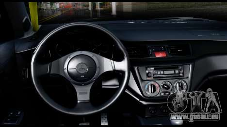 Mitsubishi Lancer Evo 9 für GTA San Andreas rechten Ansicht
