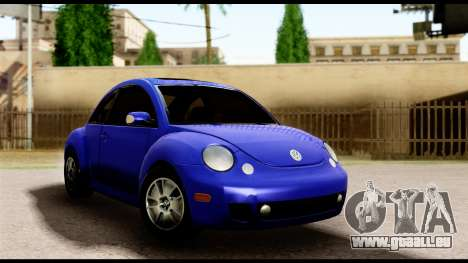 Volkswagen New Beetle pour GTA San Andreas