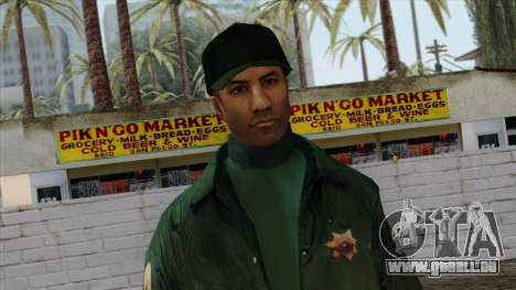 Police Skin 2 pour GTA San Andreas troisième écran