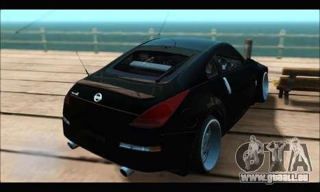 Nissan 350Z Rock pour GTA San Andreas laissé vue