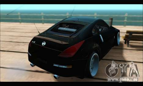 Nissan 350Z Rock für GTA San Andreas linke Ansicht