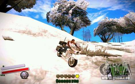 C-HUD v4.0 für GTA San Andreas zweiten Screenshot