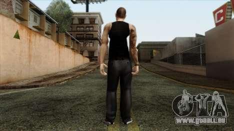 GTA 4 Skin 66 pour GTA San Andreas deuxième écran