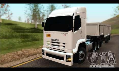 ISUZU FXZ 360 Thailand pour GTA San Andreas
