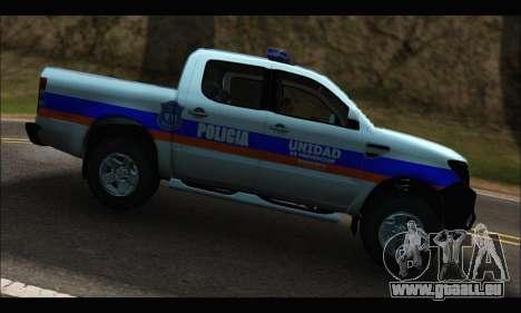 Ford Ranger P.B.A 2015 Text2 für GTA San Andreas linke Ansicht