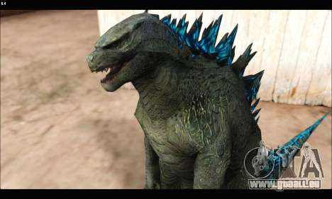Babyzilla 2014 (Godzilla) für GTA San Andreas