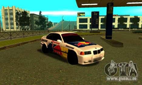 BMW M3 E36 RedBull pour GTA San Andreas