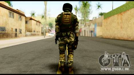 Support Troop from Battlefield 4 v3 für GTA San Andreas zweiten Screenshot