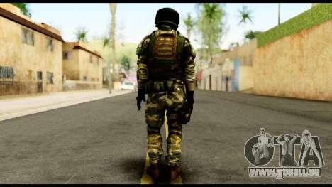 Support Troop from Battlefield 4 v3 für GTA San Andreas zweiten Screenshot