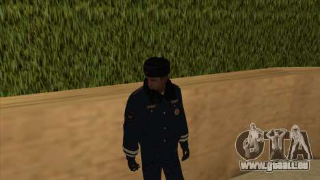 Die Polizei in Russland - winter-Formular für GTA San Andreas