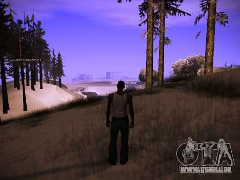ENB v.14 pour GTA San Andreas deuxième écran