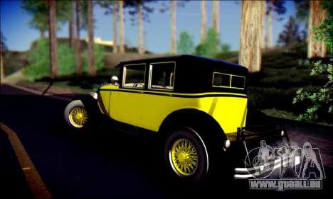 Albany Roosevelt (GTA V) pour GTA San Andreas vue intérieure