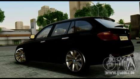 BMW 3 Touring F31 2013 1.0 pour GTA San Andreas laissé vue